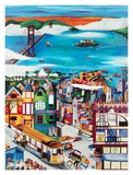 Hills of San Francisco Prints by Linnea Pergola