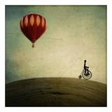 Penny Farthing For Your Thoughts Prints by Irene Suchocki