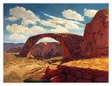 Rainbow Bridge Prints by Paul Davis