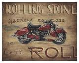 Let's Roll Posters tekijänä Janet Kruskamp