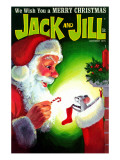 A Creature Was Stirring - Jack and Jill, December 1970 Giclee Print by Rae Owings