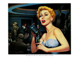 "Honky-Tonk Hero - Saturday Evening Post ""Leading Ladies"", December 31, 1955 pg.20 Giclee Print by Robert Stanley"
