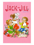 Hearts and Havoc - Jack and Jill, February 1972 Giclee Print by Ruth Van Sciver