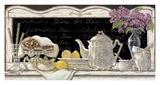 Tea Time Kunstdrucke von Janet Kruskamp