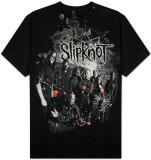 Slipknot - Grey Splatter T-Shirt
