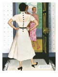"I Want A Divorce! - Saturday Evening Post ""Leading Ladies"", September 9, 1950 pg.24 Giclée-Druck von Joe deMers"