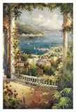 Bougainvillea Archway Prints by Peter Bell