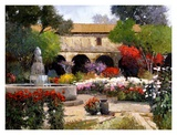Mission Surrounded by Beauty Poster di Kent Wallis