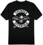 Avenged Sevenfold - Deathbat Crest T-Shirt