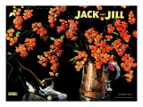 Berries - Jack and Jill, October 1947 Giclee Print by Nelson Grofe