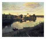 Evening Bells, 1892 Prints by Isaac Levitan