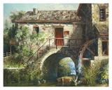 The Old Stone Mill Prints by Michael R. Miller