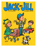 Safe Crossing - Jack and Jill, September 1965 Giclee Print by Lee de Groot