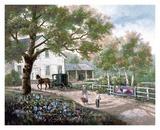 Amisches Landhaus Kunstdrucke von Carl Valente