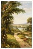 Passeggiata al lago Stampe di A. Weller