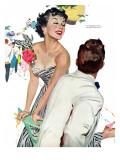 "I Want A Man  - Saturday Evening Post ""Leading Ladies""  April 15  1950 pg40"