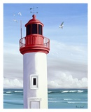 Le Phare Prints by Henri Deuil