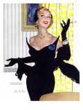 "Clever Woman Are Dangerous Too  - Saturday Evening Post ""Leading Ladies"", August 5, 1950 pg.32 Giclee Print by Joe deMers"