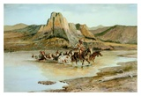 Return of the Horse Thieves Prints by Charles Marion Russell
