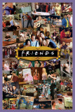 Friends- Montage Obrazy