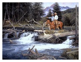 Bend of the River Art by Jack Sorenson