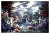 Luna piena Stampe di Alma Lee