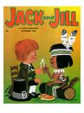 Make a Wish - Jack and Jill, November 1962 Giclee Print by Jack Weaver