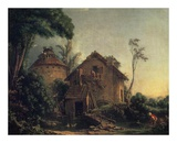 Country Home Prints by Francois Boucher