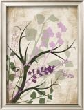 Lavender and Sage Florish I Prints by Jennifer Pugh