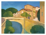 Pres du Pont Posters by Elisabeth Estivalet