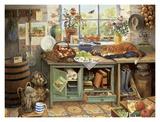 Gardeners World II Art by Bernard Willington