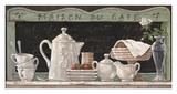 Maison du café Affiches par Janet Kruskamp