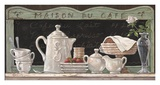 Maison du Cafe Prints by Janet Kruskamp