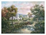 Le Vermont à l'époque coloniale Affiches par Carl Valente