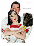 "Wife in Revolt - Saturday Evening Post ""Leading Ladies"", March 22, 1952 pg.24 Giclee Print by Joe deMers"