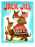 Happy Birthday USA! - Jack and Jill, July 1969 Giclee Print by Lesnak