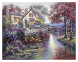 Crystal Streams Bungalow Art by Carl Valente