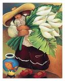 Red Shoe Lily Affischer av Linda Carter Holman