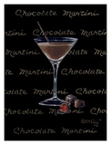 Chocolate Martini Print by Janet Kruskamp