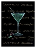 Choco-Mint Martini Print by Janet Kruskamp