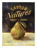 Savour Pear Plakat af Scott Jessop