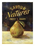 Savour Pear Print by Scott Jessop