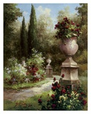 Secret Garden Path Poster von Gabriela 