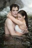 Twilight Breaking Dawn- Edward and Bella Water Poster