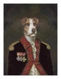 Herr Rufus von Terrier Kunst von  Massy