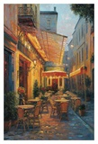 Cafe Van Gogh, Arles, France Posters by Haixia Liu