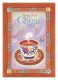 China Tea Kunstdrucke von Sue Williams