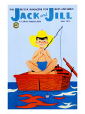 Summer Day - Jack and Jill, July 1957 Giclee Print