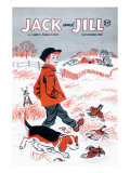 Gone for a Walk - Jack and Jill, November 1956 Reproduction proc&#233;d&#233; gicl&#233;e par Beth Henninger Krush