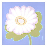 Pastel Flower Power II Print by Monica Kuchta